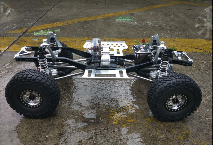 SCX10 Full Alloy Chassis Set 313mm Wheelbase