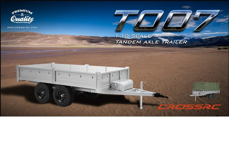 T007 Trailer Kit With Tarpaulin