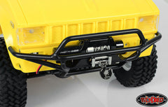 RC4WD Tough Armor Front Tube Bumper w/Winch Mount for Trail Finder 2