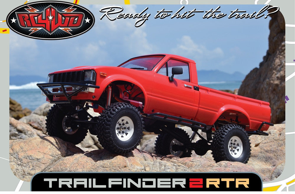 RC4WD Trail Finder 2 RTR w/Mojave II Body Set