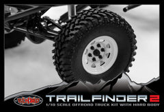RC4WD Trailfinder 2 Pick Up Truck Complete Kit.