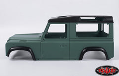 RC4WD1/10 Land Rover Defender D90 Limited Edition Pre-painted Green Body