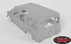 RC4WD 1/10 Defender D110 Hard Plastic Body Kit
