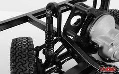 RC4WD Dual Spring 80mm Scale Black Shocks (Ver 2)