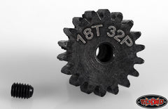 RC4WD 18t 32p Hardened Steel Pinion Gear