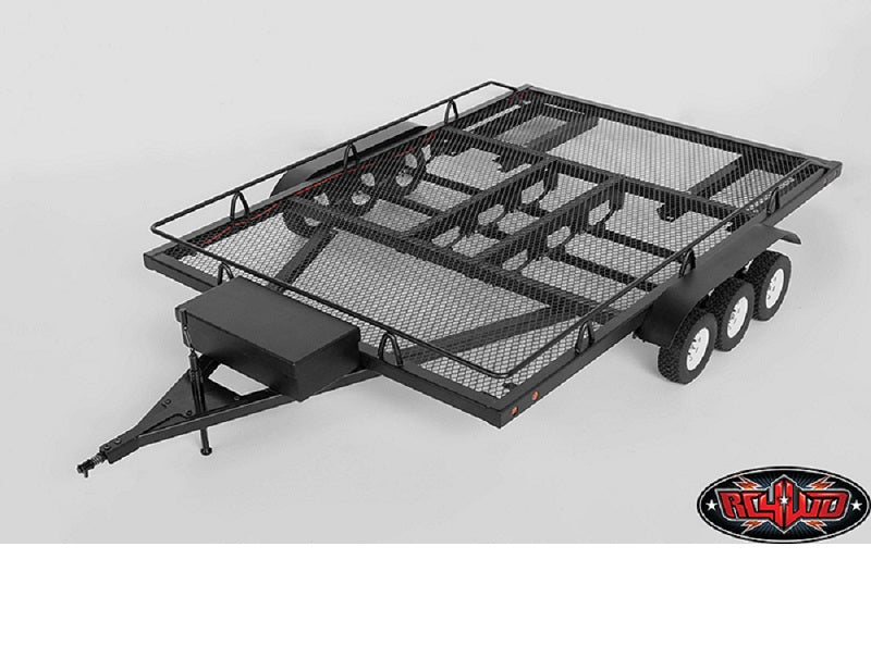 RC4WD BigDog 1/10 Triple Axle Scale Truck Trailer (Super Wide)