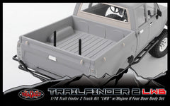 "RC4WD Trail Finder 2 Truck Kit ""LWB"" w/ Mojave II Four Door Body Set"