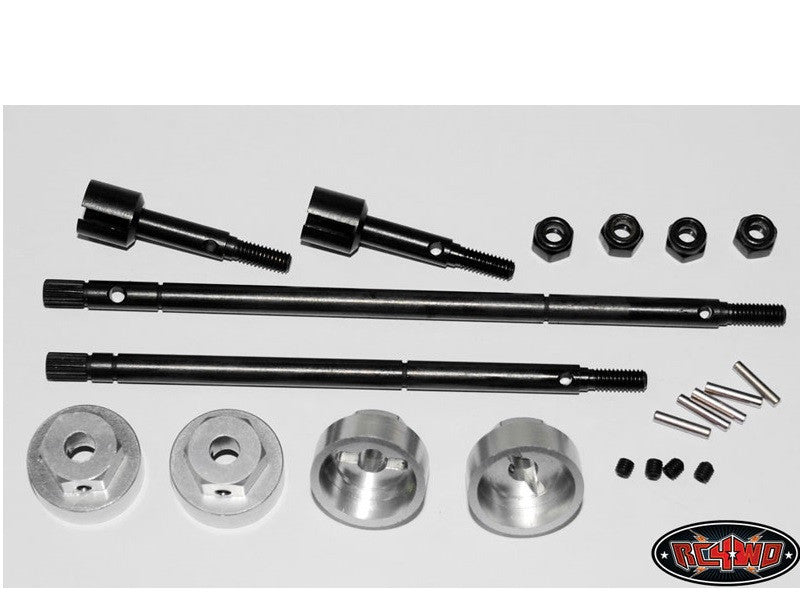 RC4WD 12mm Hex conversion kit for Tamiya Bruiser 2012