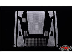 RC4WD Diamond Plate Accessory Pack for Defender D90 Body