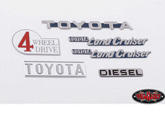 RC4WD Cruiser Body Emblem Set