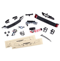Traxxas TRX-4 Sport LED light set, w/power supply (headlights, tail lights)