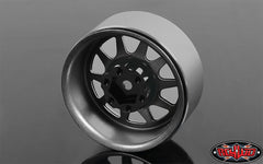"RC4WD OEM Stamped Steel 1.9"" Beadlock Wheels (Plain)"
