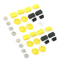 1/10 Scale Traffic Barricade Light Accessory 4pcs