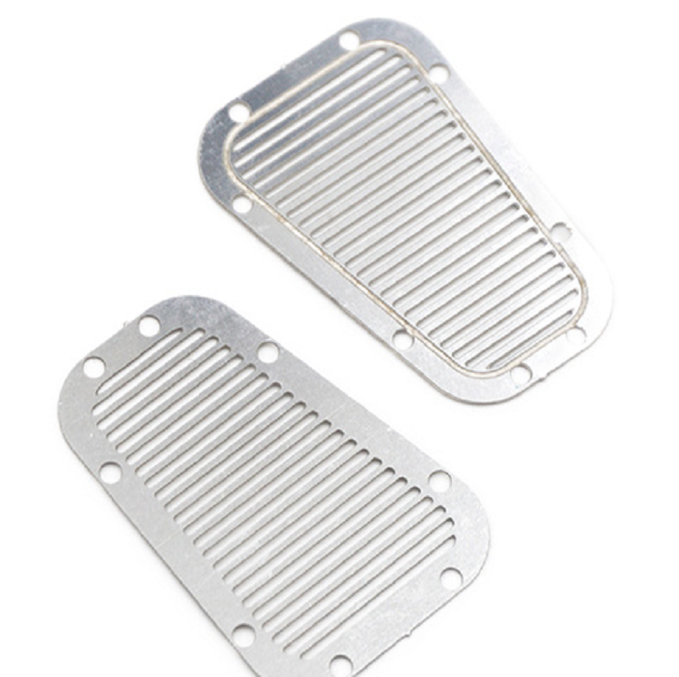 Traxxas TRX-4 Stainless Steel Front Hood Vent Plates