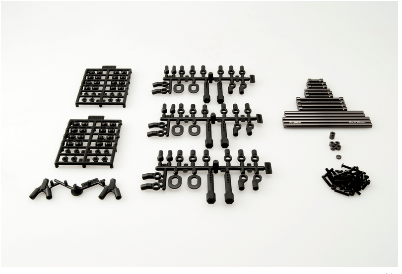 "Set Of Axial SCX10 TR Links Set - 12.3"" (313mm) Wheel Base"