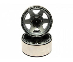EVO™ 1.9 High Mass Beadlock Aluminum Wheels Star-6 (Pair)
