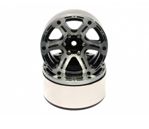 EVO™ 1.9 High Mass Beadlock Aluminum Wheels Twin-6C (Pair)