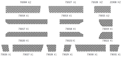 PG4L/A/S Chequer Plate Set