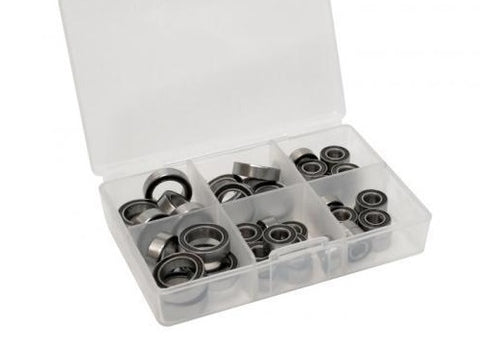 High Performance Full Ball Bearings Set Rubber Sealed (40 Total) for Axial SCX10 III