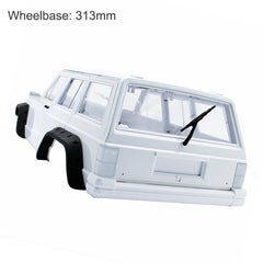 Jeep Cherokee 313mm Wheelbase 1/10 Scale Hard Plastic Body Shell