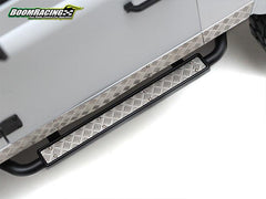 Stainless Steel Diamond Plate Accessory Pack for Defender Pickup Truck D90/D110 Black