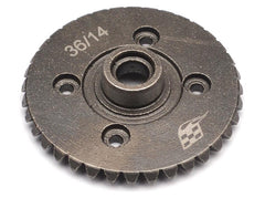 Heavy Duty Bevel Helical Gear Set - 36T/14T Overdrive For All 1/10 Axial Trucks