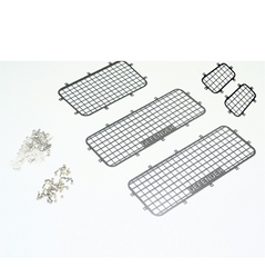 Traxxas TRX-4 Stainless Steel Side Window Mesh Guard (Defender)