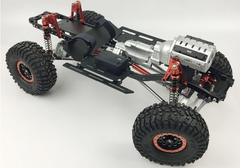 SCX10 II Full Alloy Chassis Set 313mm Wheelbase 2 Speed V8 Engine