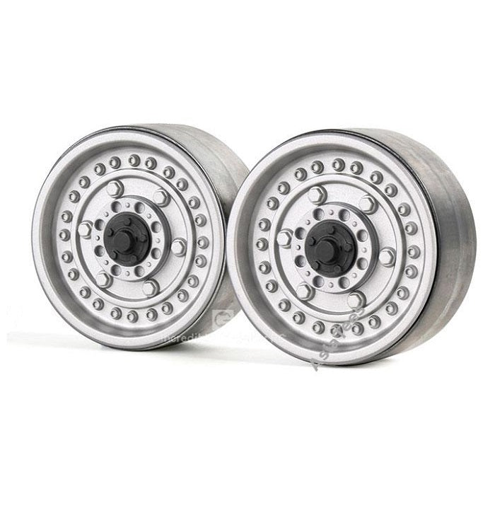 1.9 Alloy Classic Military Style Wheels, Series VI (2) Silver