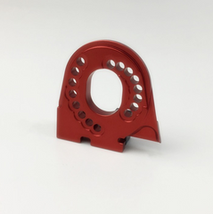 Traxxas Alloy Motor Mount Plate for Traxxas TRX-4 (Red)