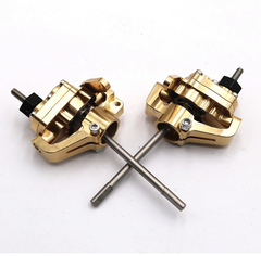 Axial SCX10 II Brass Portal Axle Conversion Set Front And Rear Set