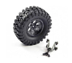FTX Outback Spare Tyre Mount and Tyre