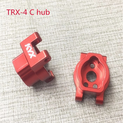 Traxxas TRX-4 Alloy Rear Axle Lockout (Red)