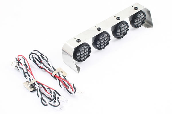 Fastrax 4-Light Cluster Bar 18mm Lights