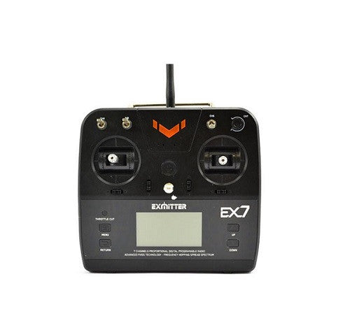 Volantex Exmitter 7-Channel Radio W/LCD Screen For Trucks