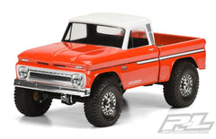 Proline 1966 Chevrolet C-10 Clear Body (CAB+BED) SCX10 313mm