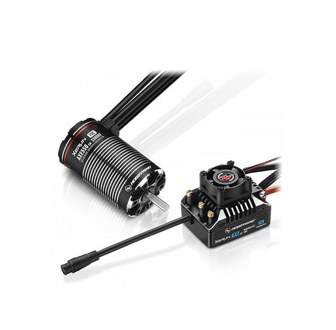 Hbbywing XERUN AXE550 3300KV R2 FOC Sensored B/LESS Combo