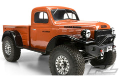 Proline 1946 Dodge Power Wagon Clear Body Crawler 313MM Wheel Base