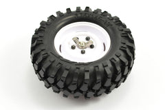 Fastrax 'KONG' Crawler Spare Tyre /1.9 Scale Wheel Set 96MM (WH)