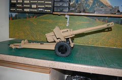 1/12 Scale 152mm Howitzer towed gun (D-20) model kit