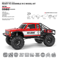 GMADE GS02 BOM1/10TH Trail Truck Kit.