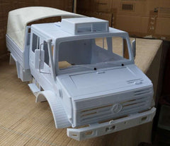 Mercedes Benz Unimog Open Bed Body Kit 1/10 Scale For Traxxas TRX-4