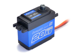 Power HD LW20 Waterproof High Torque Metal Gear Servo - Blue