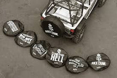 Yeah Racing 1/10 Tire Cover For 1.9 Crawler Wheels - Diesel Inside
