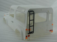 D110 Roll Cage With Ladder And Tyre Carrier