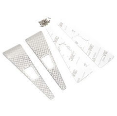 Traxxas TRX-4 Stainless Steel Front Hood Side Diamond Plate