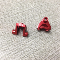 Traxxas TRX-4 Alloy Rear Link Mounts (Black)