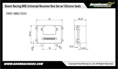 Universal Receiver Box Set w/ Silicone Seals