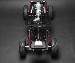 BRX01 1/10 4WD Radio Control Chassis Kit w/ Killerbody LC70 Hard Body Kit