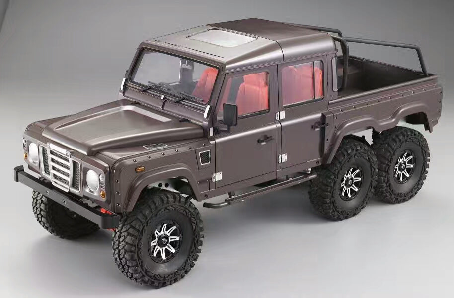 Landrover D110 6x6 Kit With Khan Hard Body